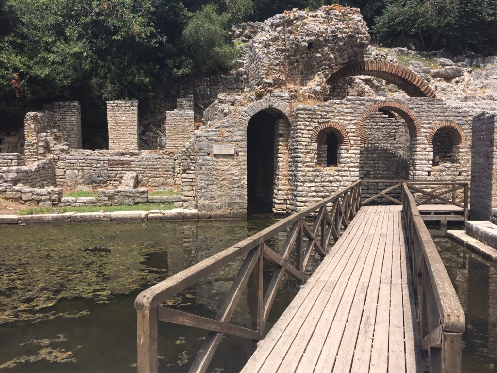 Butrint - the archaeological pearl of Albania